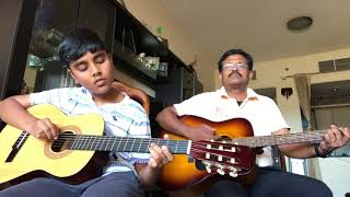Sealed with a kiss(Instrumental cover) - Kshithij with Philip
