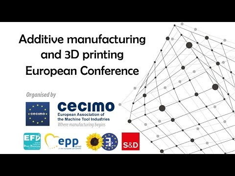 Additive Manufacturing And 3D Printing European Conference - EN