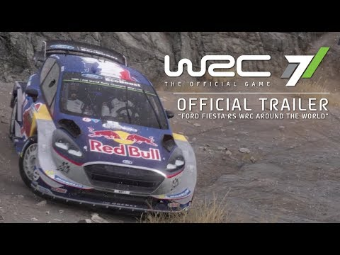 WRC 7 - Official Gameplay Trailer - Ford Fiesta RS Around the World