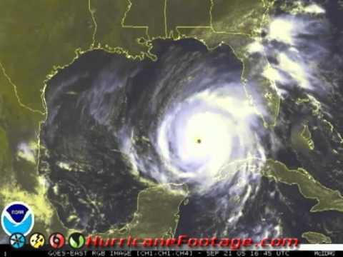 Hurricane Rita Satellite Video Archive Youtube