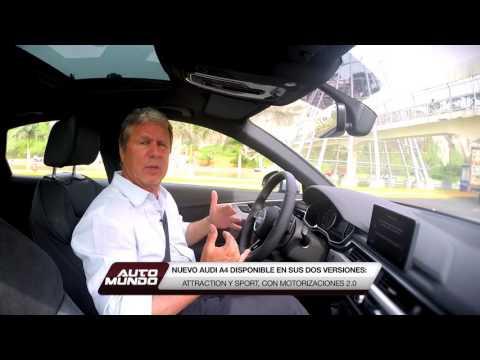 Audi A4 presentado por Jorge Koechlin