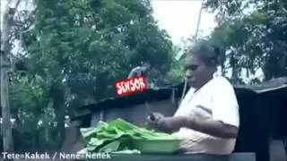 Mop Papua.. Pensil tuh asli Ngakak
