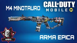 M4 MINITAURO ARMA EPICA Y POCO COMUN|CALL OF DUTTY MOBILE TEMPORADA 4