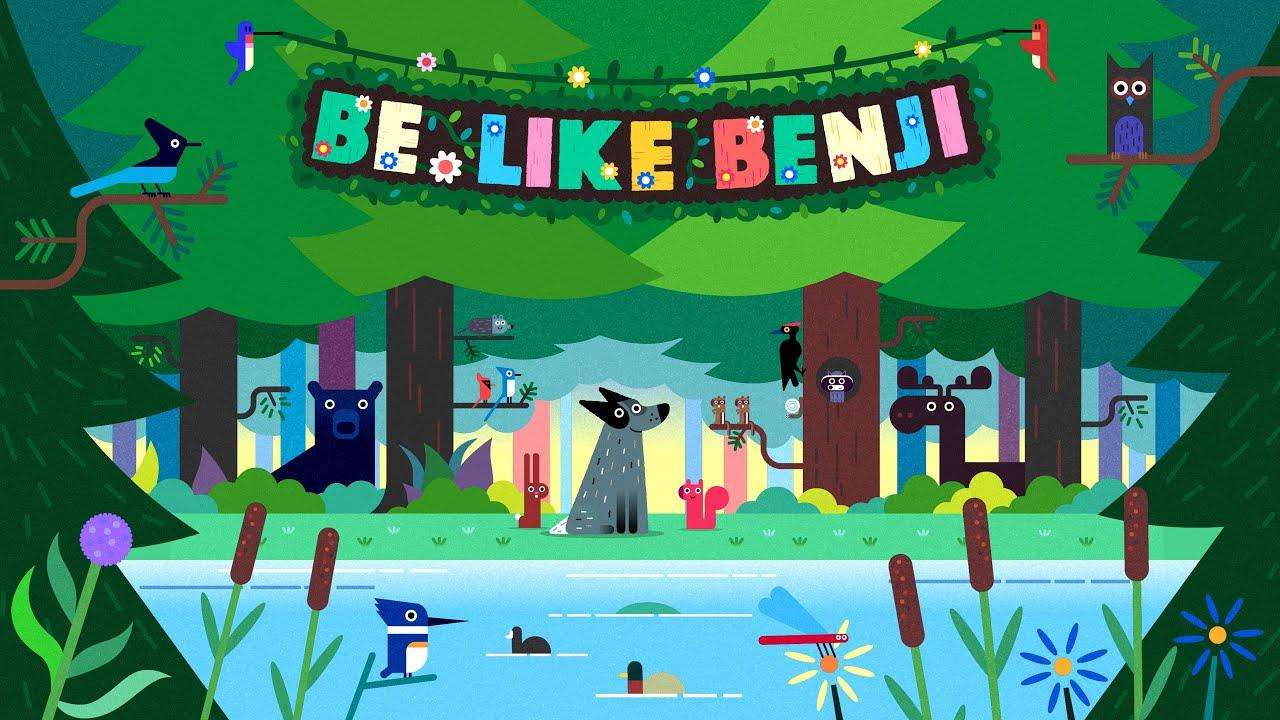 Be Like Benji - Trailer     Yoga With Adriene