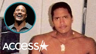 Dwayne 'The Rock' Johnson Wins Flashback Friday With Epic Teenage Pic: 'Kickin' Puberty's A**'