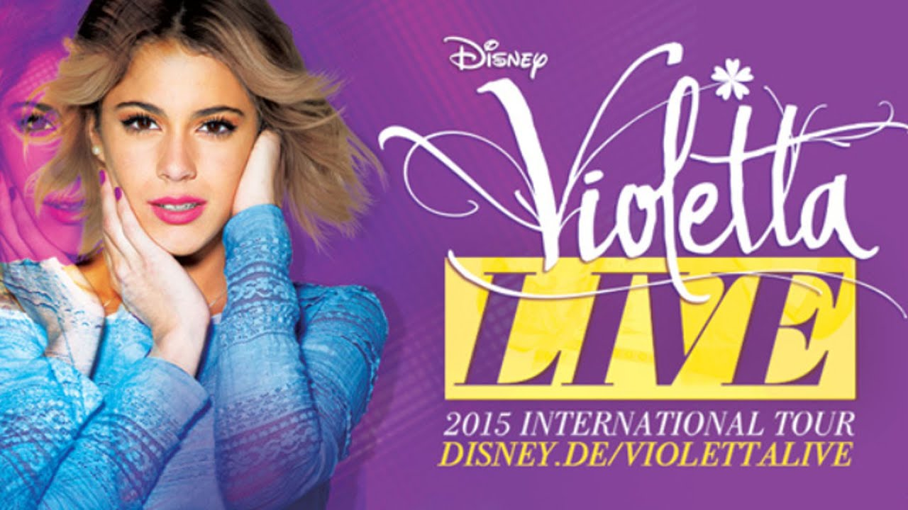 Disney Channel Violetta Live In Concert