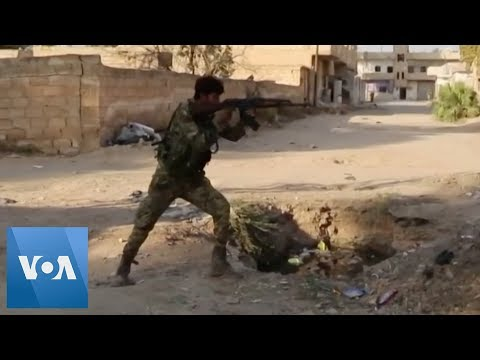 Syrian National Army Exchanges Fire with Syrian Democratic Forces in Syrian Border Town
