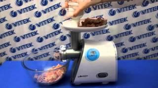 Рецепт приготовления мясных котлет с говяжьей печенью в мясорубке VITEK VT-3604 W