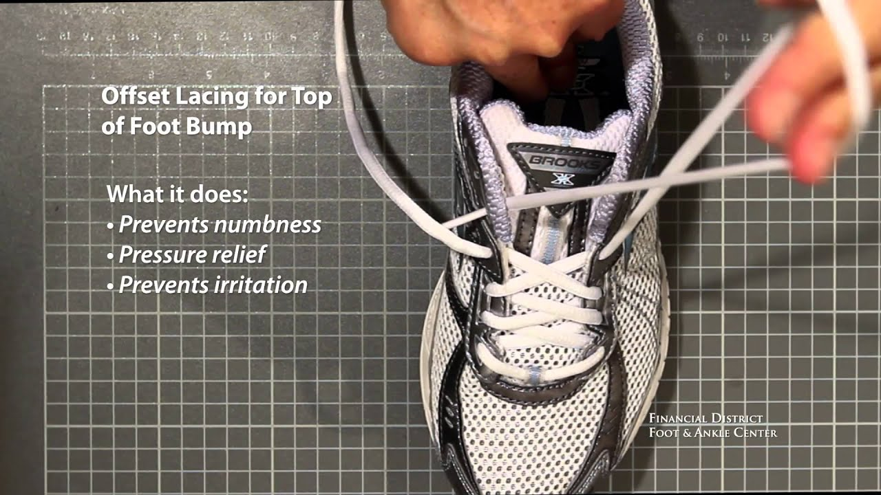athletic shoe lacing tutorial lock lacing offset lacing