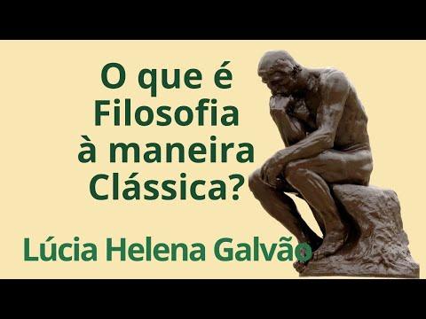 O Que é O Curso De Filosofia à Maneira Clássica De Nova Acrópole - Lúcia Helena Galvão
