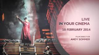 La Fanciulla del West, París Opera - LIVE IN CINEMA