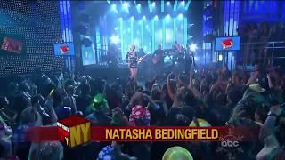 Natasha Bedingfield - Weightless - Dick Clark's New Year's Rockin' Eve 2011