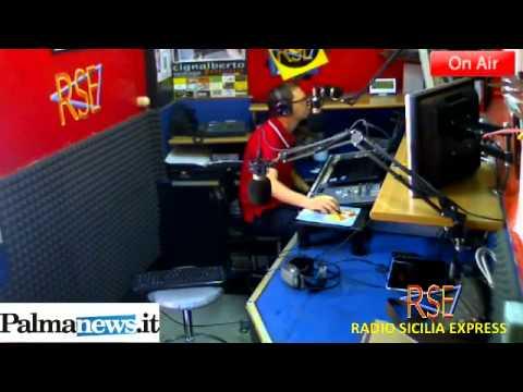 RADIO SICILIA EXPRESS-PALMASETTE con LUIGI ARCADIPANE