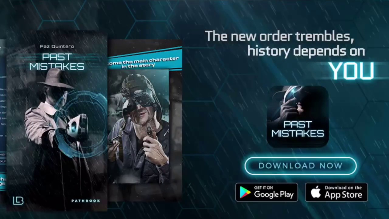 Past Mistakes - Dyspotian Gamebook Best Book Apps For iphone, ipad, Android  Interactive Books