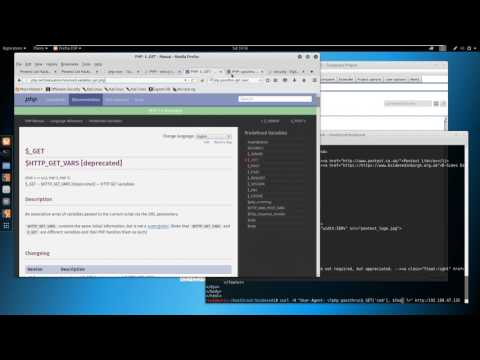 PHP Injection, Netcat, Popping Shells - Pentest Limited's BSides Edinburgh