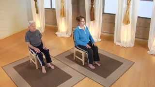 Easy Chair Yoga for Beginners and Seniors