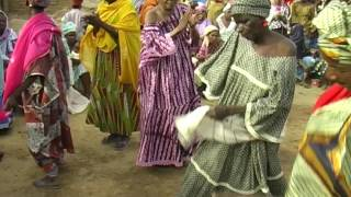 Jembe drumming, song, and dance (2007) hot solo dancing