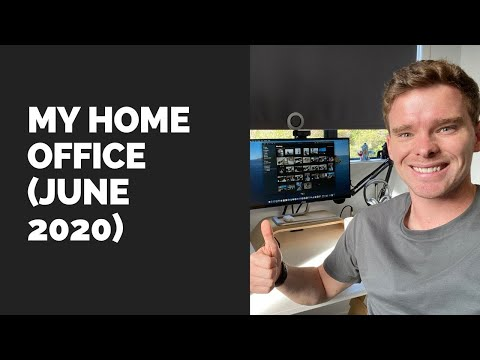 My Home Office (June 2020)