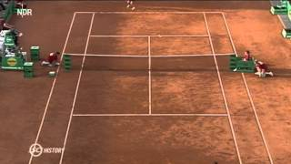 30/04/93 - Seles against Maleeva - Last point before the stabbing