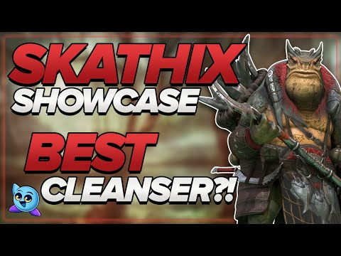 SKATHIX SHOWCASE!! THE ULTIMATE CLEANSER?!? | RAID: Shadow Legends
