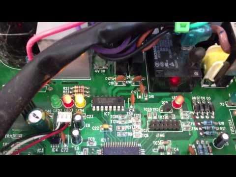 ComfortStar Mini Split E5 error code