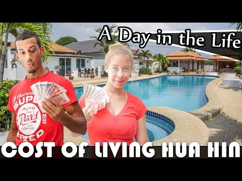 COST OF LIVING IN HUA HIN + FULL GROCERY HAUL LIVING IN THAILAND VLOG (ADITL EP264)