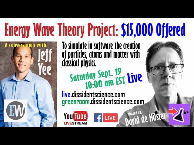 Energy Wave Theory with Jeff Yee - Modeling in 3D