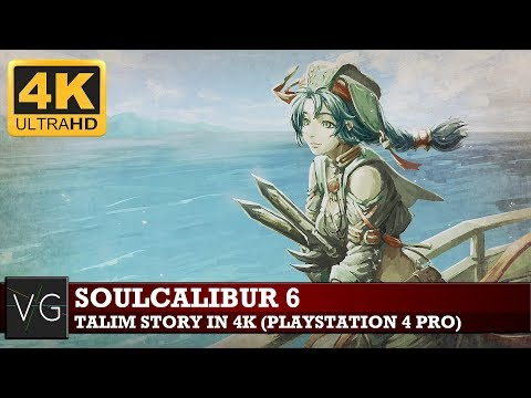 Soulcalibur 6: Talim Story mode in 4K (PS4) - no commentary.