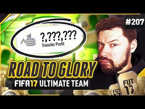 EASY INVESTMENTS! - #FIFA17 Road to Glory! #207 ultimate team