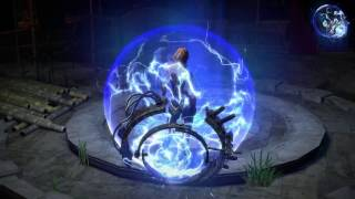 Path of Exile: Stormcaller Character Effect