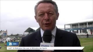 Golf : la fédération liée avec le Ministère des Sports