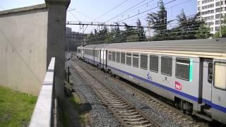 4 trains de marchandises+16 trains TER+8 trains TGV