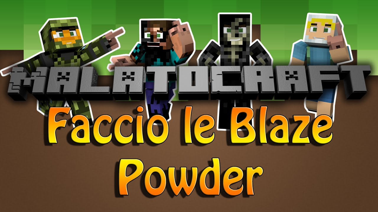 how to make blaze powder tekkit