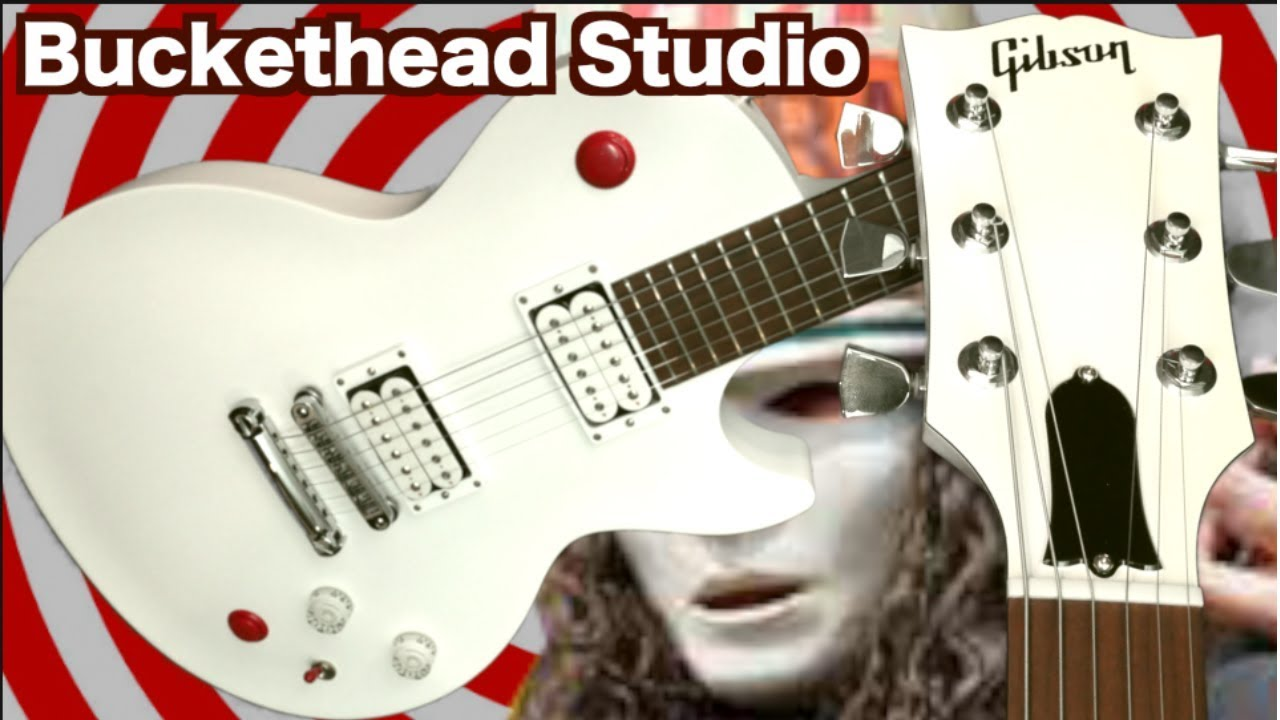 what do the buttons do? 2011 gibson les paul buckethead signature studio  guitar   review + demo