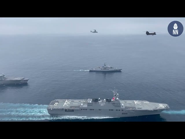 Amphibious Exercise ARC-21 with Japan, USA, France & Australia