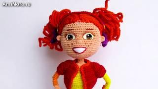 Амигуруми: схема Алёнка. Игрушки вязаные крючком - Free crochet patterns.