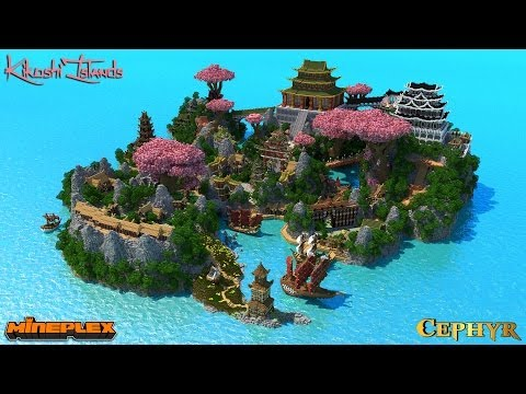 Kikoshi Islands - Survival Games Map for Mineplex