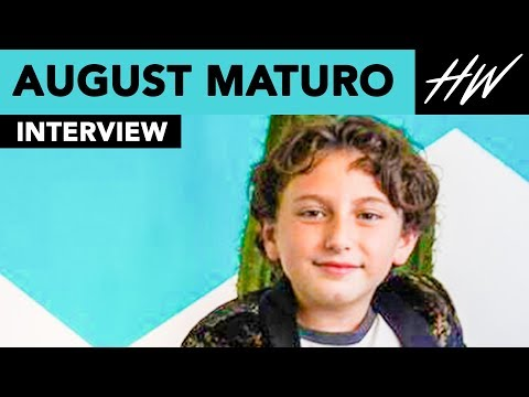 The Nun's, August Maturo Was Terrorized By An Evil Nun?!   Hollywire