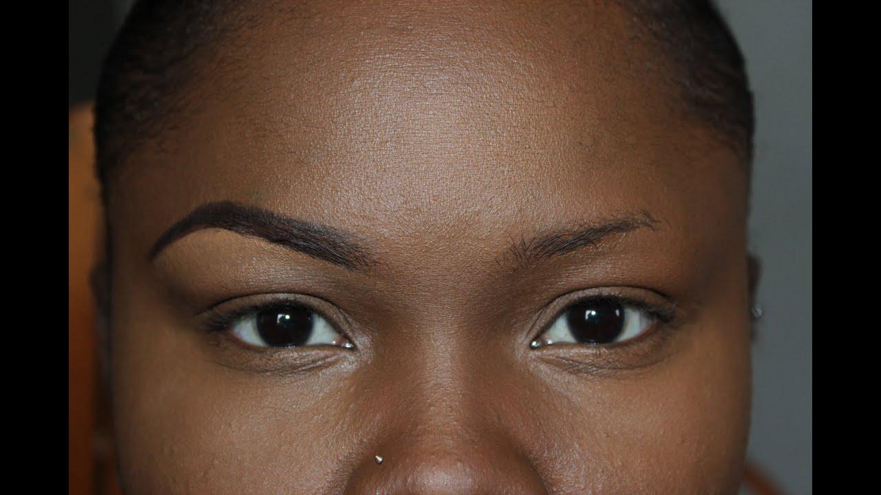 How To Shape Thin Eyebrows Lyricrochester Youtube