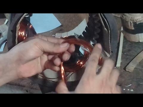 Menggulung Genset/Melilit ulang generator 3000 wat
