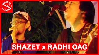 Radhi OAG x Shazet Sounds LIVE - Akustatik, Generasiku & Slumber