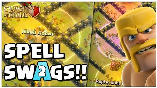 3 Spells Swagged | Best TH9 War Attacks | Clash of Clans