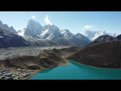 View from Gokyo-ri, in Everest Region-Nepal