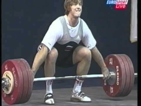 Olympic Weightlifting IWF World Championships Mens 105k Snat
