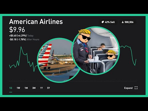 Why I'm Buying American Airlines Stock - Rebound Incoming | Robinhood Investing