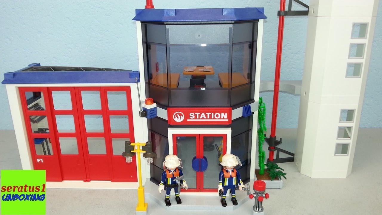 Playmobil Feuerwehr Hauptquartier 4819 Auspacken Seratus1 Unboxing