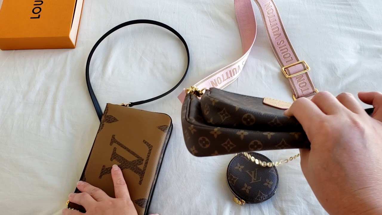 Louis Vuitton Pochette Comparisons Double Zip VS Multi Accessoires and maybe Mini #luxurypl38