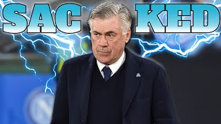 Official: Carlo Ancelotti Sacked By Napoli | Napoli 4-0 Genk