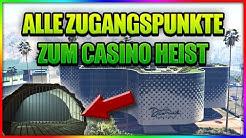 alle zugagnspunkte bei der mission Casino ausspähen
