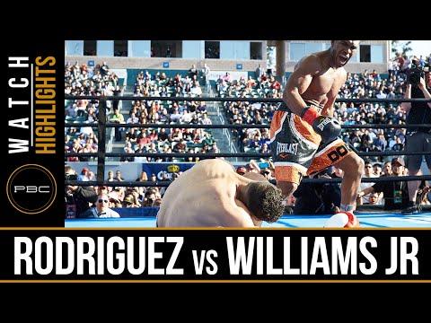 Rodriguez vs Williams Jr HIGHLIGHTS: April 30, 2016 - PBC on FOX